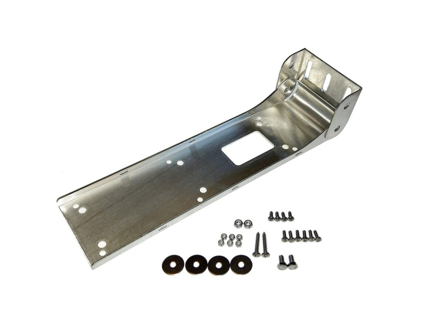Lowrance - Stainless Transom Bracket - for Totalscan - Transducer
