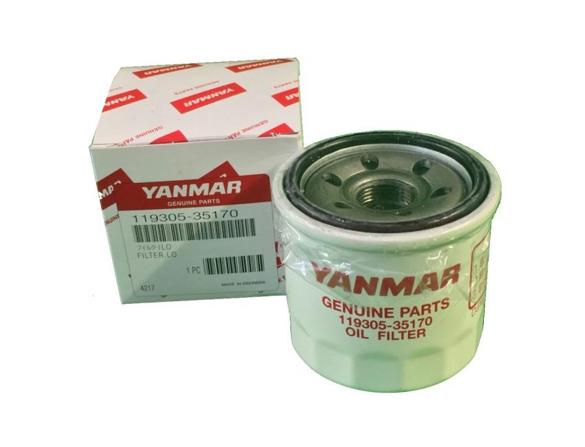 YANMAR MARINE OIL FILTER - GM YM JH SERIES ENGINES - 119305-35151 /  119305-35170