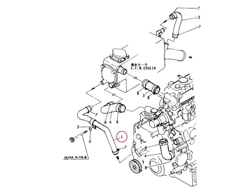 Yanmar 2gm parts diagram