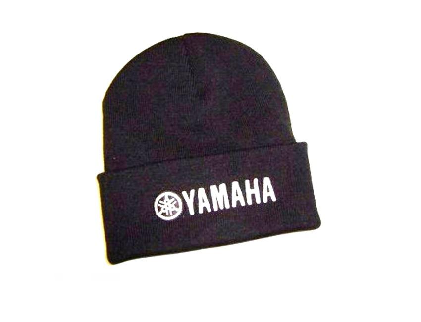 750b42c5376 YAMAHA Marine - Turn Up Beanie Hat - Black - Top quality