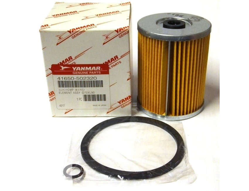 Genuine YANMAR Marine Fuel Filter - JH LH LHA Series Engines - 41650-502320