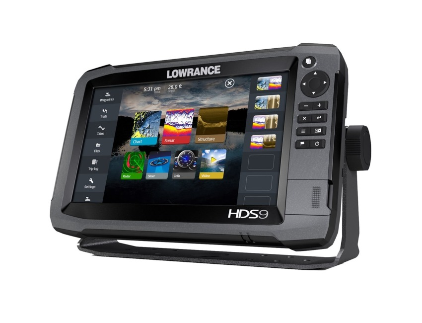 Lowrance HDS-9 TOUCH GEN3 - c/w Totalscan Transducer
