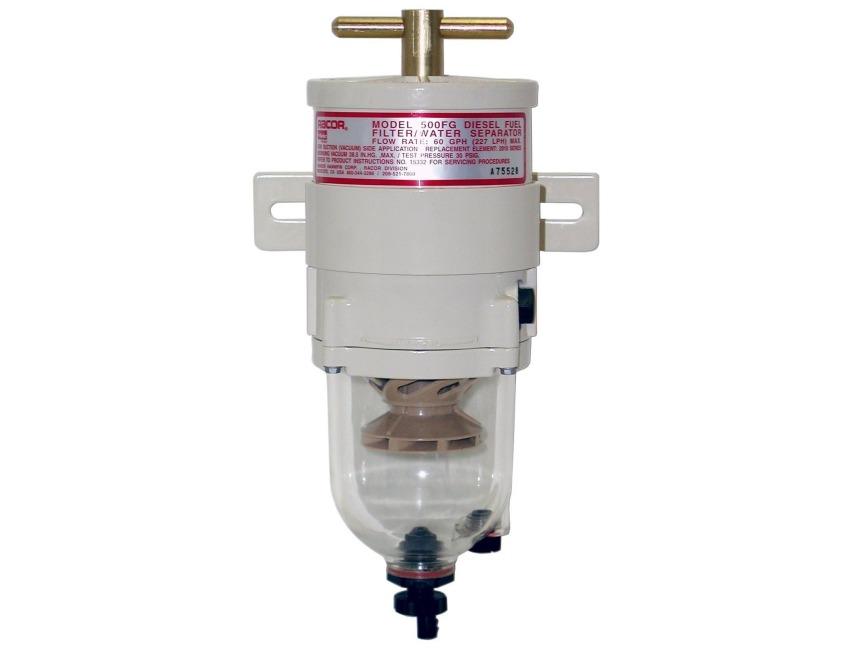 Diesel Fuel Water Filter : Genuine racor fg turbine diesel fuel filter water