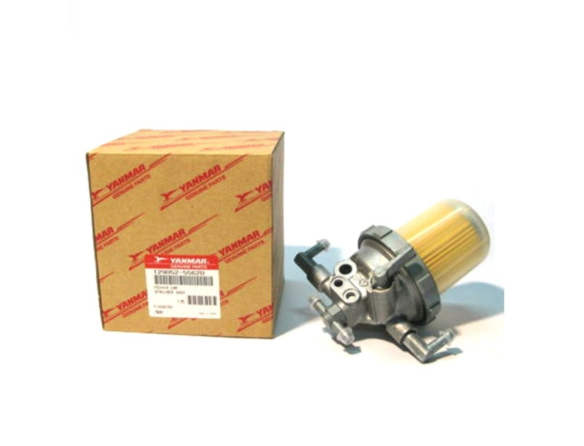 YANMAR - Fuel filter / Strainer Housing - 3TNE82 4TNE84 4TNE88 -  129052-55620