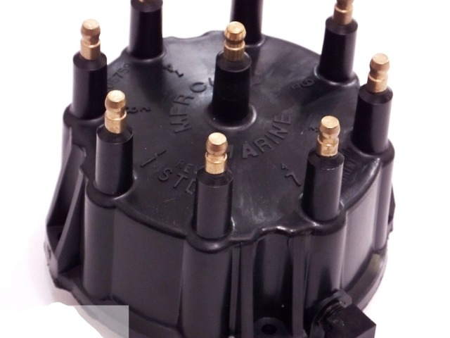 V-8 MerCruiser Engines Made by General Motors with Thunderbolt IV and V HEI Ignition Systems Quicksilver Distributor Cap Kit 805759Q01 for Marinized
