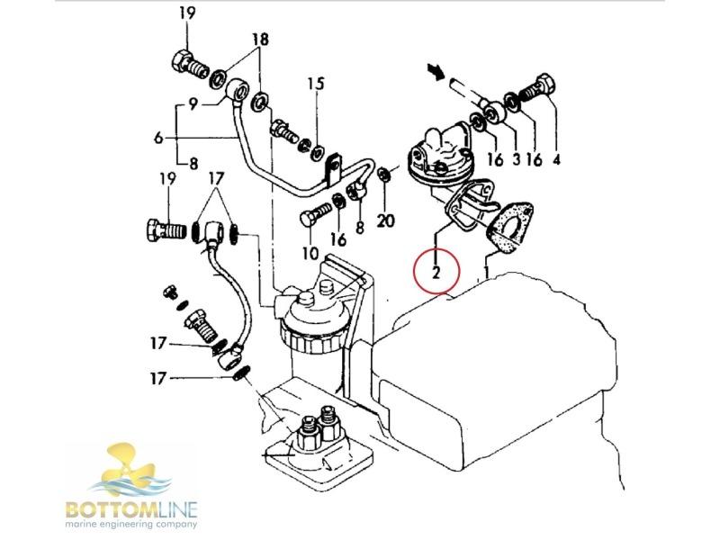 Yanmar 2gm20f Parts Diagram Yanmar 2gm20f Water Pump Googlea4 Com