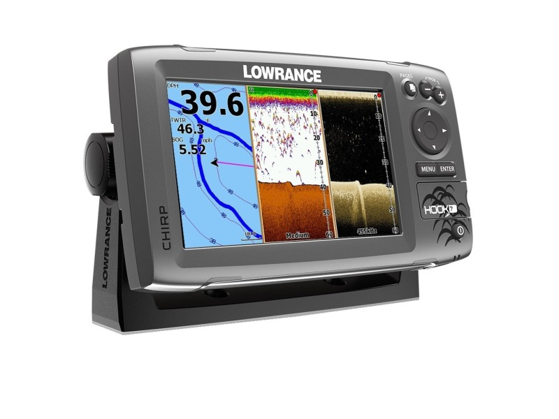 lowrance with gps