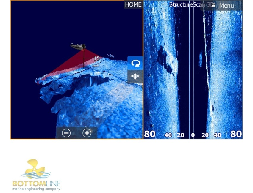 Lowrance Structure Scan Transducer Placement