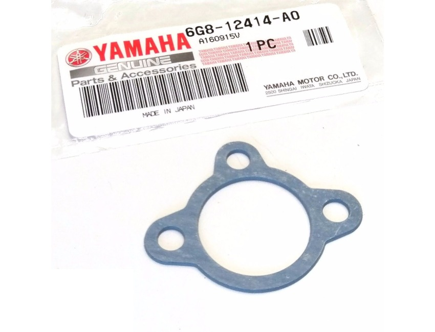 Outboard 4-Stroke  6G8-12414-A0 Yamaha Thermostat housing gasket F6A F8 F9.9