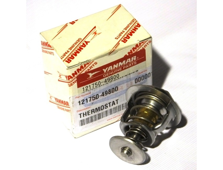 Genuine Yanmar Marine 3GM30F-YEU Thermostat 121750-49800