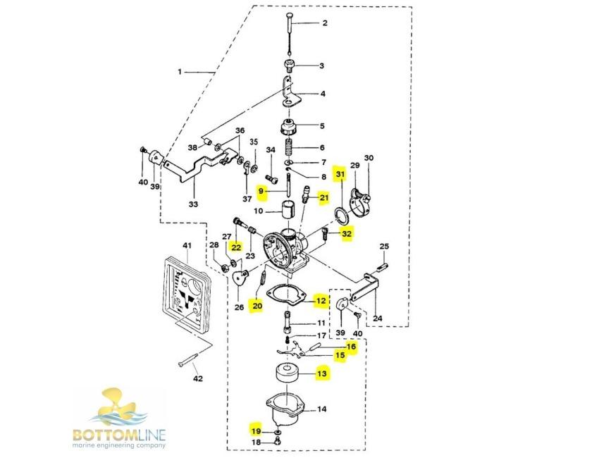 M Carburetor Schematic Diagram on