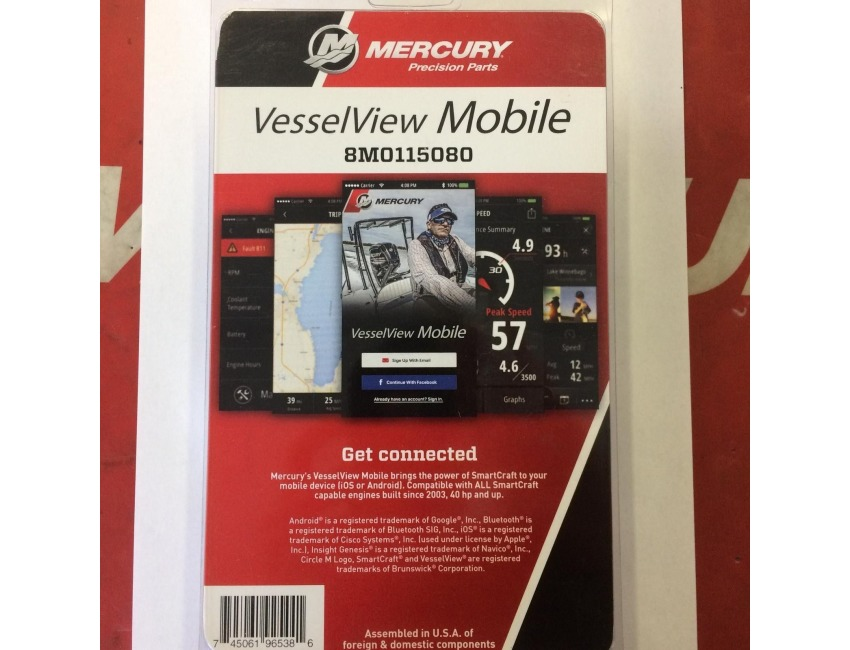 Mercury Vessel View Mobile Outboard Mercruiser