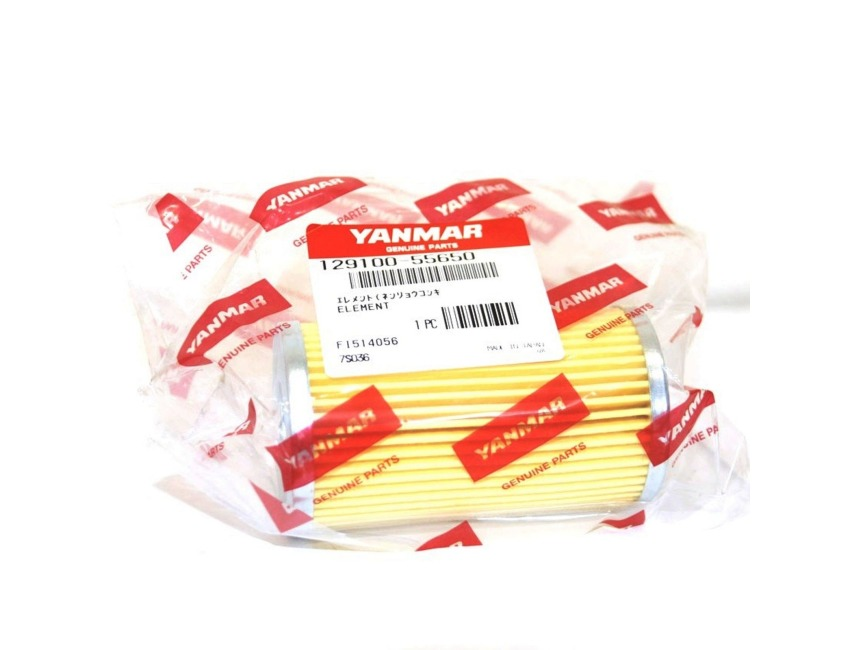 YANMAR - Fuel filter element - 3TNE82 4TNE84 4TNE88 - 129100-55650
