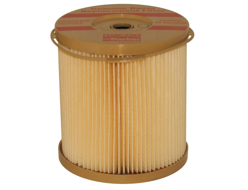 2040PM Racor 30 Micron sel Fuel Filter Element / Water separator - on