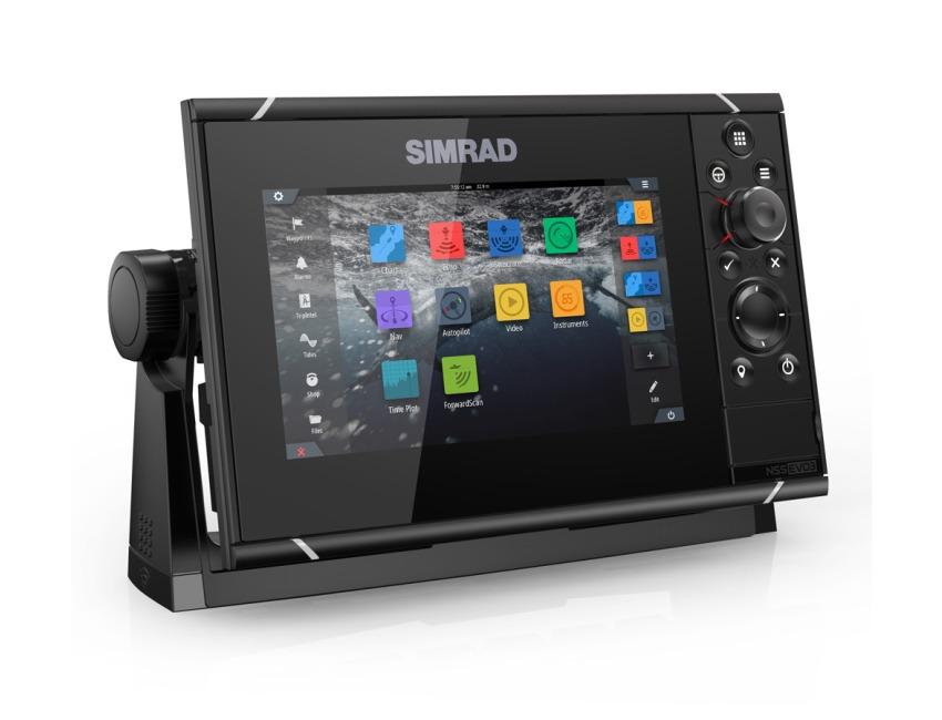 SIMRAD NSS7 evo3 - Multifunction Chartplotter / Chirp Sonar - No Transducer