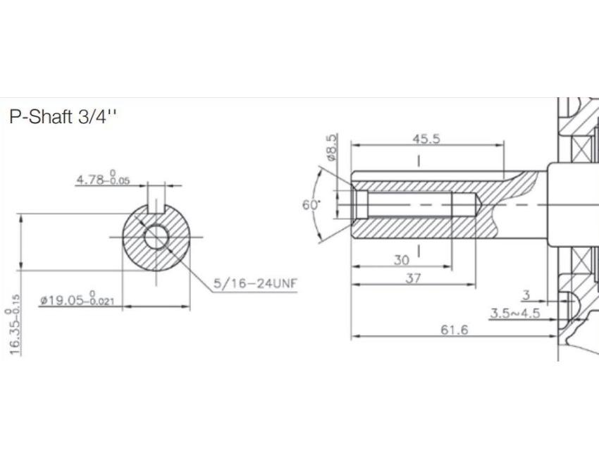 Loncin g200f petrol 4 stroke Engine HP 6,5 spark conical shaft lombardini