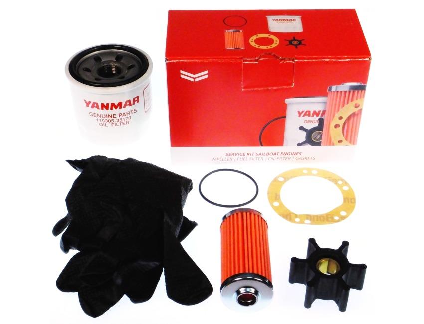 YANMAR Engine Service Kit - 2GM20F, 3GM30F, 2GMF, 3GMF - YEU-SERVKIT-003 /  SK-MARINE-003