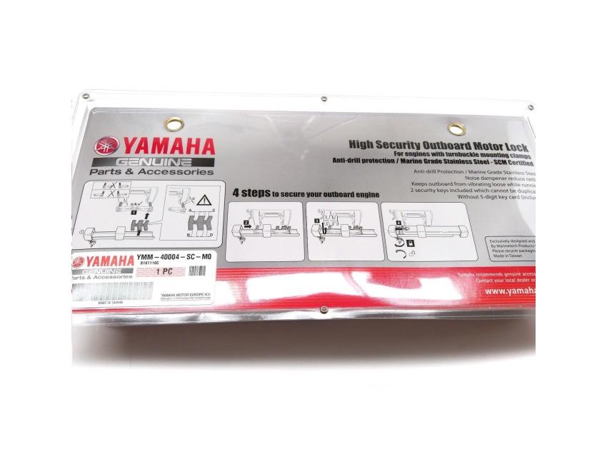 Yamaha Outboard Motor Lock - SCM - Thumbscrew / Turnbuckle - Anti Theft -  YMM-40004-SC-M0