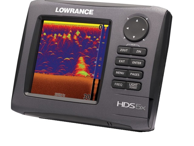 Lowrance HDS-5x Gen2 (Head unit only) - Network Fishfinder - 151-10203-001