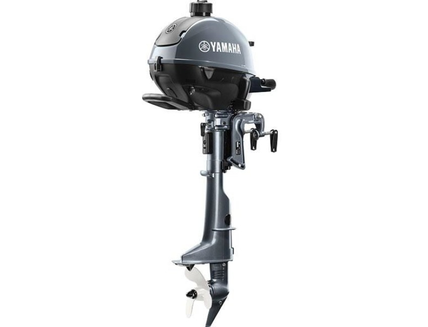 Yamaha f2 5bmhl 4 stroke outboard motor long small for Yamaha 6hp outboard motor